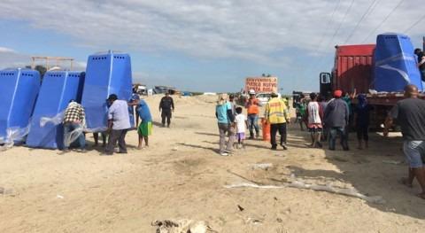 Gobierno Perú lleva 500 baños portátiles zonas afectadas lluvias Piura