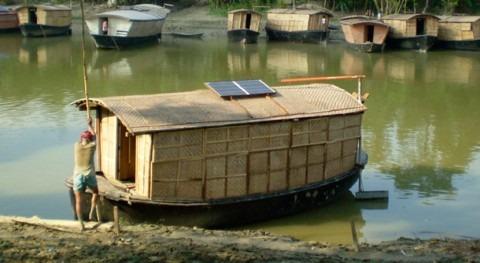 barcos escuela, alternativa que no falte educación inundaciones Bangladés