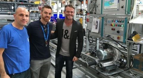 Barmatec visita fábricas prestigiosa marca FPZ soplantes Canal lateral