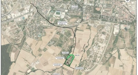 URA licita obras defensa crecidas ríos Batán y Zapardiel (Vitoria)