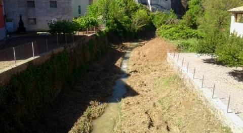 CHE finaliza 8 intervenciones mejora capacidad desagüe cauces Huesca
