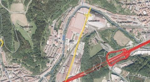 Convenio acometer obras defensa crecidas río Oria Beasain, Gipuzkoa