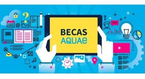 marcha nueva convocatoria Becas Aquae formarse Escuela Agua