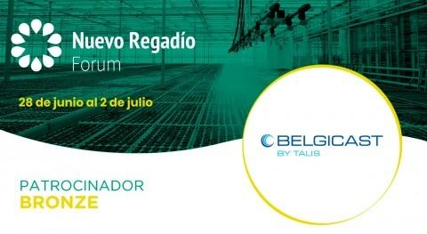 Belgicast, soluciones técnicas control agua, Bronze Sponsor Nuevo Regadío Forum