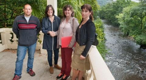 Firmado protocolo custodia fluvial proteger cuenca Bidasoa Navarra