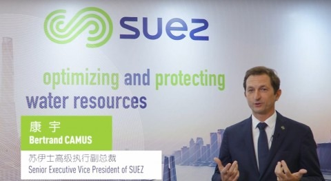 Bertrand Camus será nuevo CEO SUEZ