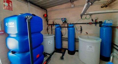 J. Huesa adapta agua red como coformulante biocidas líquidos