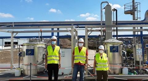 Tecnología biológica mejorar calidad biogás producido EDAR