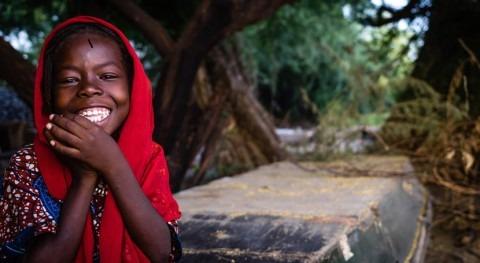Explicando cambio climático niños Chad