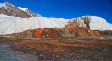 Resuelto misterio centenario cataratas sangre Antártida