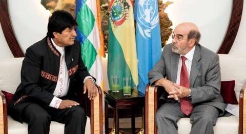 Bolivia luchará efectos cambio climático cuenca río Yapacaní