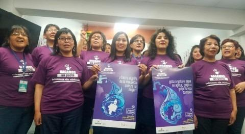 Bolivia sensibiliza lucha violencia través facturas agua