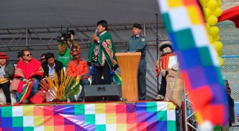 Bolivia financiará 70% obras riego