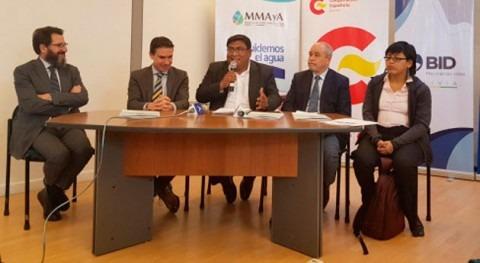 Gobierno boliviano socializa estrategia nacional agua y saneamiento áreas rurales