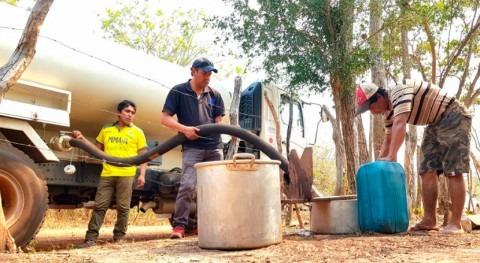 Bolivia abastece agua potable 31 comunidades Chiquitanía