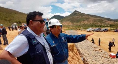 Bolivia garantizará agua riego más 880 hectáreas