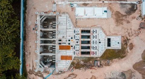 ACCIONA Agua completa montaje estructura Estación Bombeo Pradera, Ecuador