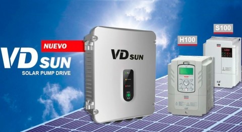 Vector Motor Control apuesta bombeo solar EFINTEC