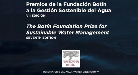 Abierto plazo inscripción Premios Gestión Sostenible Agua, VII edición