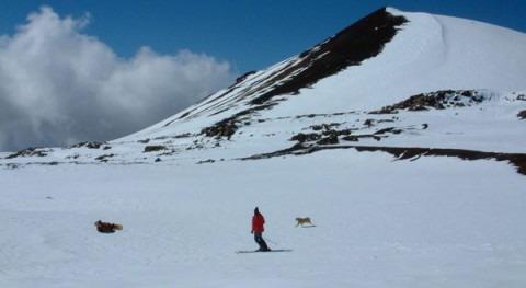 pesar calentamiento global hay sequías y también inundaciones, y cae nieve Hawai