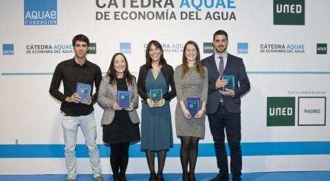 'Blockchain' certificará Premios Investigación Economía Agua Cátedra AQUAE