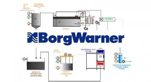 Evaporación al vacío Borgwarner