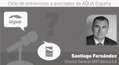 """Santiago Fernández: """"Tenemos gran responsabilidad asegurar agua máxima calidad"""""""