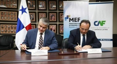 CAF y Gobierno Panamá promueven proyectos saneamiento agua Panamá Oeste