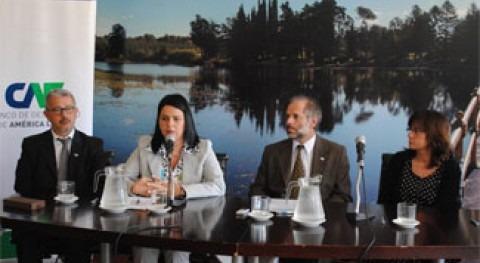 CAF canaliza 1,4 millones euros UE construcción Presa Arroyo Casupá Uruguay