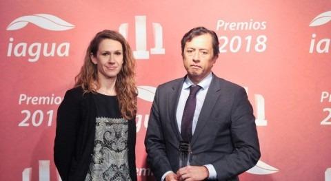 CAF, mejor organismo internacional premios iAgua 2018