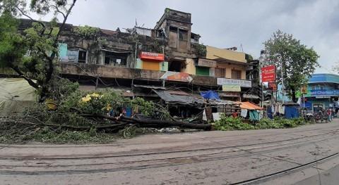 """India y Bangladesh protestan falta agua ciclón """"Amphan"""""""