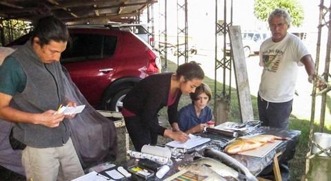 investigación detecta presencia fármacos uso humano peces río Uruguay