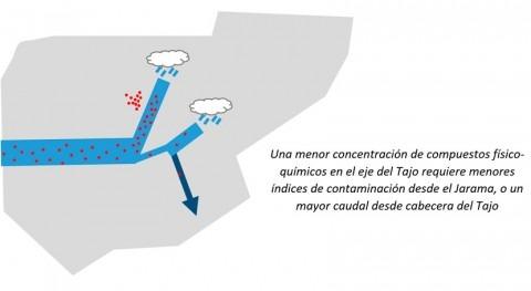 Cómo depuradoras Madrid y Trasvase Tajo-Segura afectan calidad agua Tajo