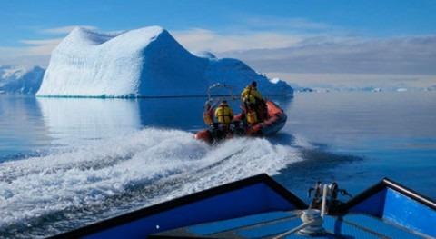 ¿Qué ocurre cuando aguas Antártico se calientan grado?