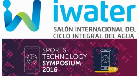 #iwater16 & #FCBSPORTSTECH. The present is smart