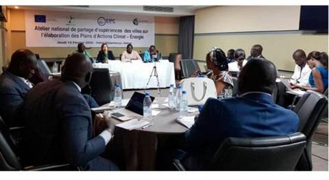 Alcaldes lucha cambio climático Senegal