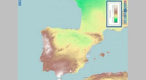 Nuevo mapa análisis climático tendencias precipitaciones futuras