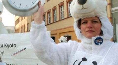 Manifestación en Alemania (WWF).