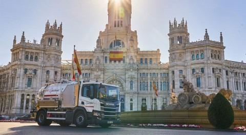 ACCIONA incorpora vehículos Eco mantenimiento alcantarillado Comunidad Madrid