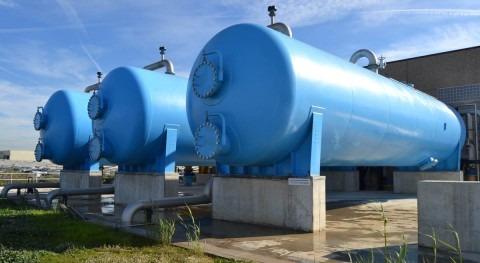stación regeneradora de agua del Camp de Tarragona para la reutilización en usos industriales en el Polo Químico de Tarragona