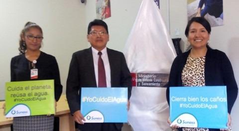 Gobierno Perú inicia campaña ahorro agua potable