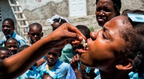 OMS comienza campaña vacunación cólera Haití