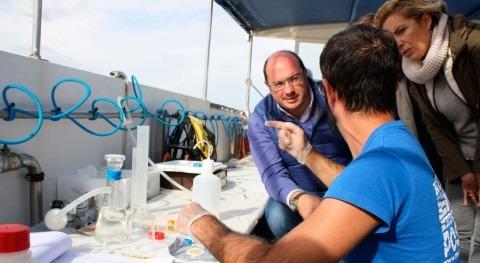 """"""" trabajo científico, base que Gobierno regional tome decisiones respecto al Mar Menor"""""""