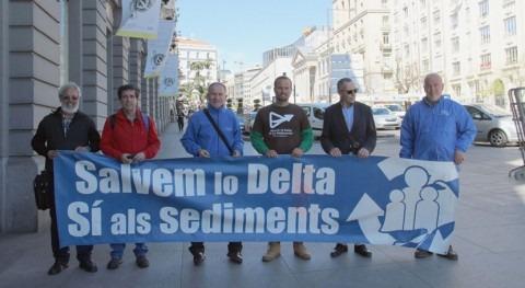 Campaña Sedimentos llega al Congreso defender delta Ebro y cuenca