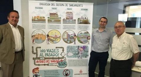 Valencia conciencia impactos tirar toallitas al váter