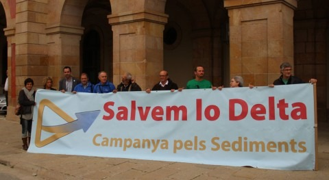 Campaña Sedimentos vuelve al Parlamento catalán conservación delta Ebro