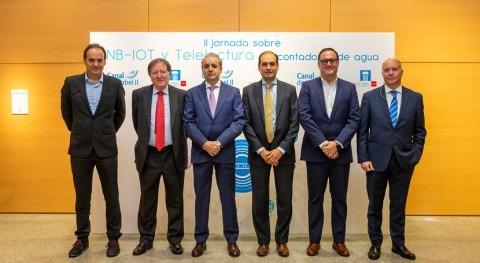 Canal Isabel II presenta avances telelectura contadores tecnología NB-IoT