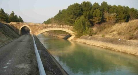 Adjudicada conservación infraestructuras zona regable Bardenas