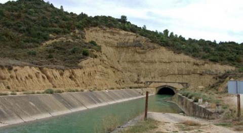 CHE adjudica obra mantenimiento túnel Farasdués Canal Bardenas, Zaragoza