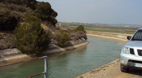 Confederación Hidrográfica Ebro adjudica dos obras conservación sistema Bardenas